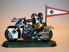 Black Templar biker 1 - right